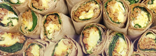Collage Item 9 - Catered Breakfast Wraps